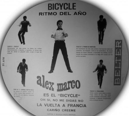 Instrucciones para bailar el Bicycle de Alex Marco