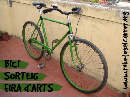 Bici Sorteig Fira d'Arts de Carrer de Roketes